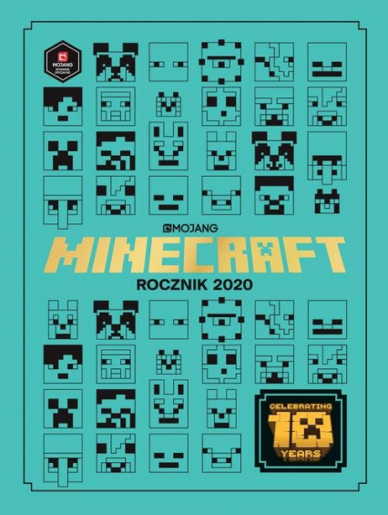 Minecraft Rocznik 2020 - Milton Stephanie, Riordan Jane | okładka