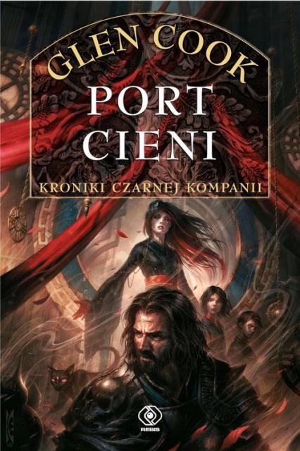 Czarna Kompania Tom 5 Port Cieni - Glen Cook | okładka