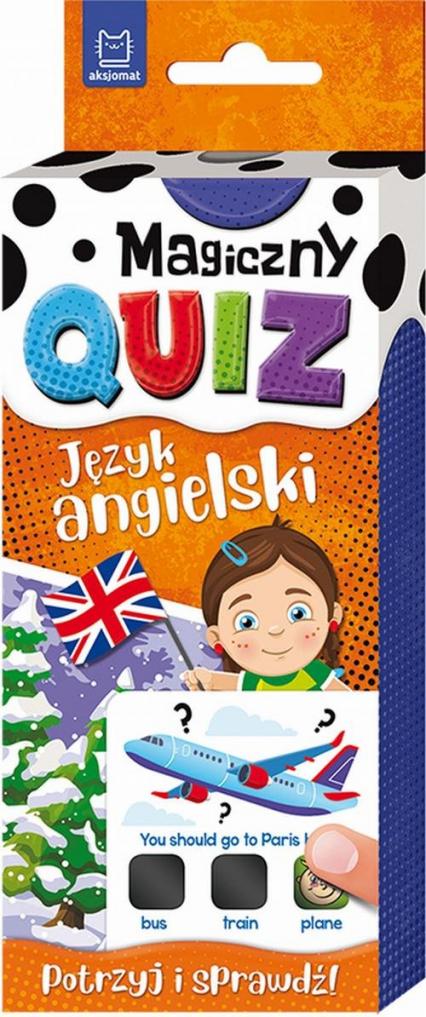 Magiczny quiz Język angielski -  | okładka
