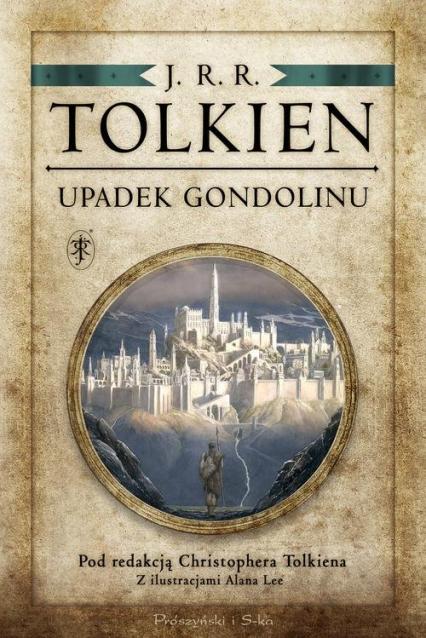 Upadek Gondolinu - J.R.R Tolkien | okładka