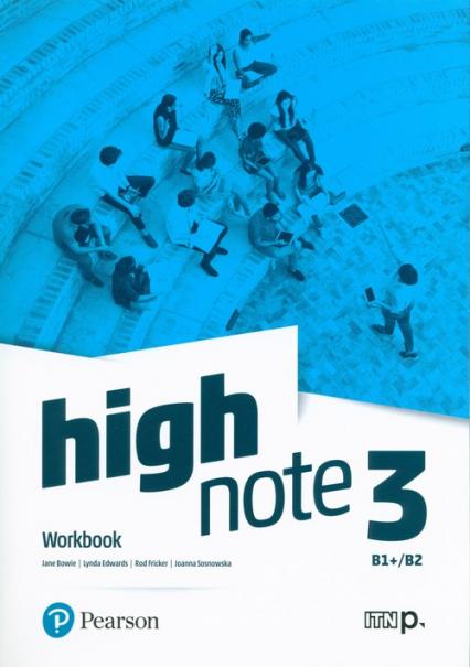 High Note 3 Workbook + Online Szkoła ponadpodstawowa i ponadgimnazjalna - Bowie Jane, Edwards Lynda, Fricker Rod, Sosnowska Joanna   okładka