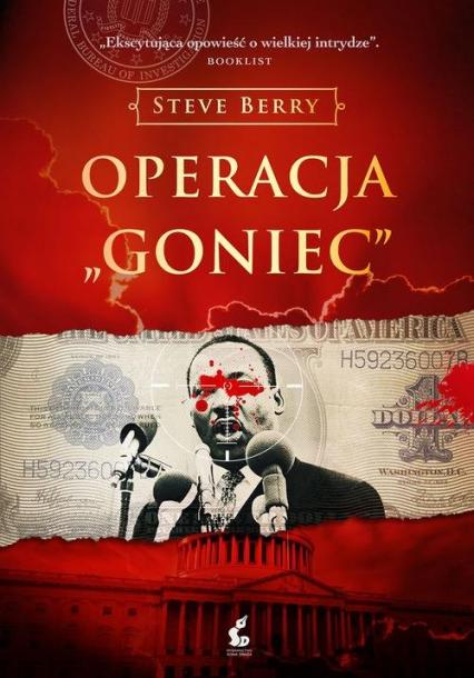 Operacja Goniec - Steve Berry | okładka