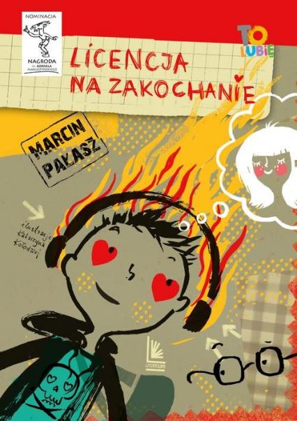 Licencja na zakochanie - Marcin Pałąsz   okładka