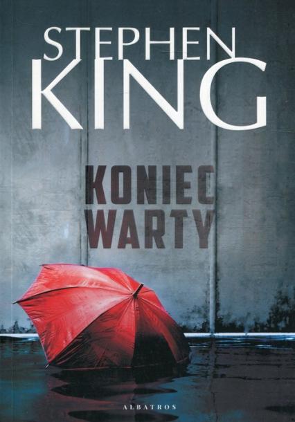 Koniec warty - Stephen King   okładka