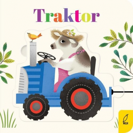 Czytanki - układanki Traktor -  | okładka