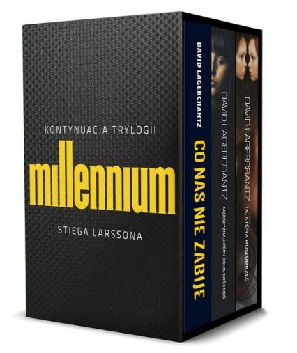 Pakiet Millennium David Lagercrantz - David Lagercrantz | okładka