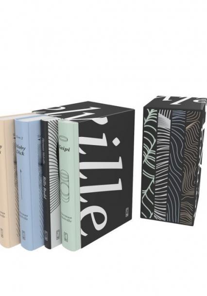 Pakiet: Moby Dick Tom 1-2 / Billy Budd / Taipi - Herman Melville | okładka