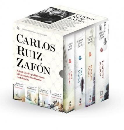 Cień wiatru / Gra anioła / Więzień nieba / Labirynt duchów Pakiet - Zafon Carlos Ruiz | okładka