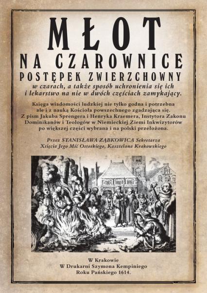 Młot na czarownice - Spengrer Jacob, Kramer Heinrich | okładka
