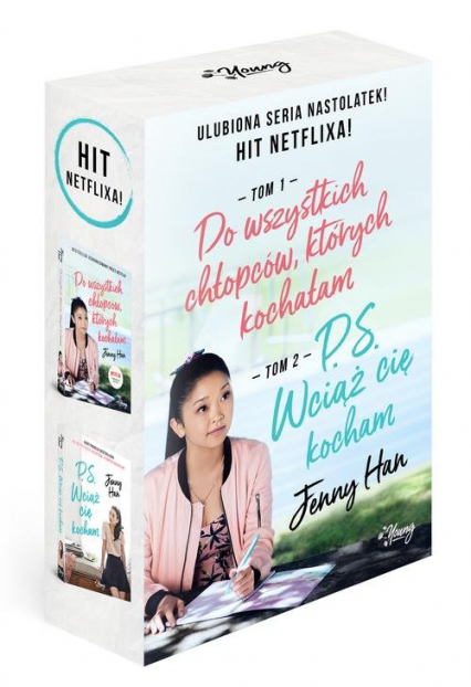 Do wszystkich chłopców których kochałam/ PS Wciąż cię kocham Pakiet - Jenny Han | okładka