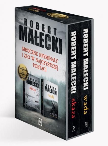 Pakiet Małecki: Skaza, Wada - Robert Małecki | okładka