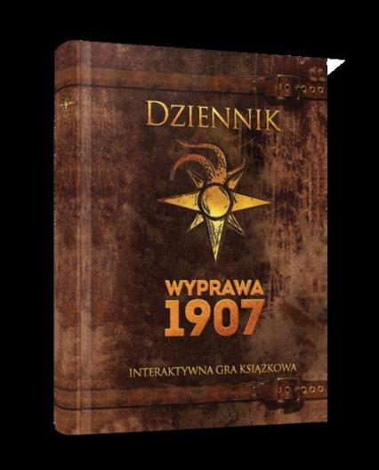 Dziennik Wyprawa 1907 Interaktywna gra książkowa -    okładka