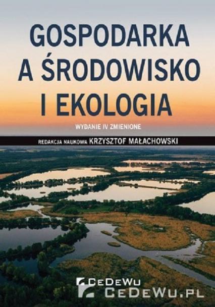 Gospodarka a środowisko i ekologia -  | okładka