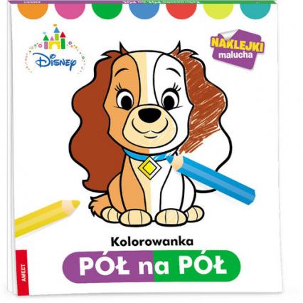 Disney Maluch Kolorowanka pół na pół PNP-1 - zbiorowa Praca | okładka
