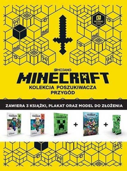 Minecraft Kolekcja poszukiwacza przygód - Milton Stephanie, Paddy Kempshall, David McComb | okładka