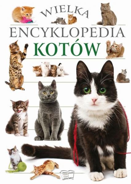 Wielka encyklopedia kotów -  | okładka