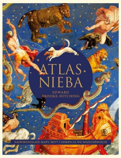 Atlas nieba - Edward Brooke-Hitching | okładka
