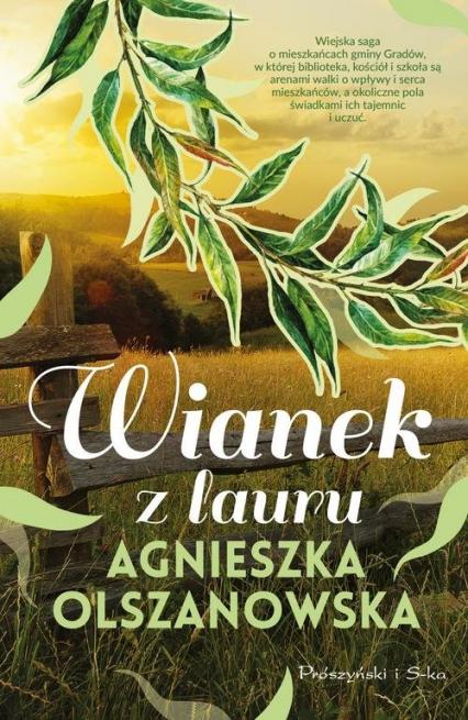 Wianek z lauru - Agnieszka Olszanowska | okładka