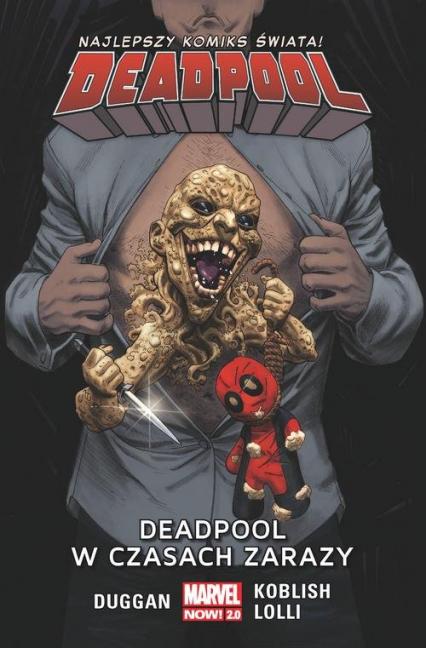 Deadpool T.6 Deadpool w czasach zarazy/Marvel Now 2.0 - Gerry Duggan | okładka