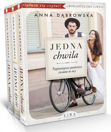 Jedna chwila / Jedno życie / Jedna miłość Pakiet - Anna Dąbrowska | okładka