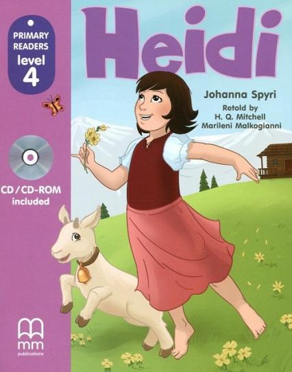 Heidi Książka z płytą CD - Johanna Spyri   okładka