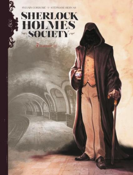 Sherlock Holmes Society Tom 3 In nomine Dei - Sylvain Cordurié | okładka