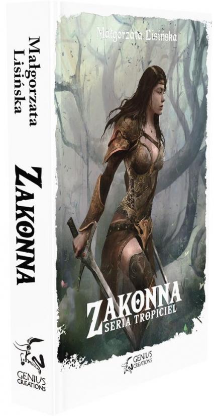 Zakonna - Małgorzata Lisińska | okładka
