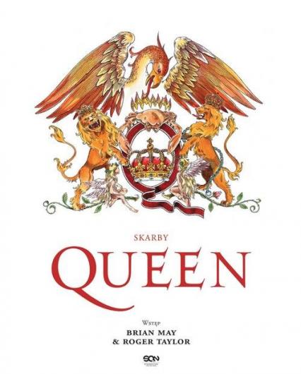 Skarby Queen - May Brian, Taylor Roger, Doherty Harry | okładka