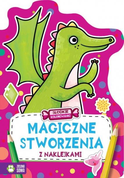 Słodkie kolorowanki Magiczne stworzenia -  | okładka