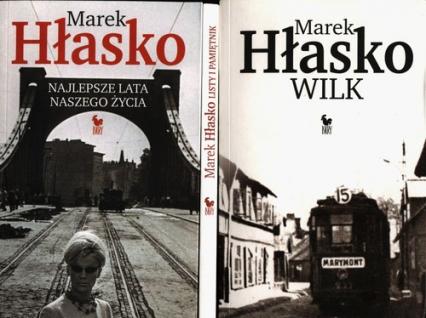Listy i pamiętnik / Najlepsze lata naszego życia / Wilk Pakiet - Marek Hłasko | okładka