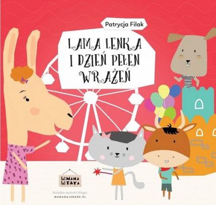 Lama Lenka i dzień pełen wrażeń / Tuli Mama Tuli Tata - Patrycja Filak | okładka