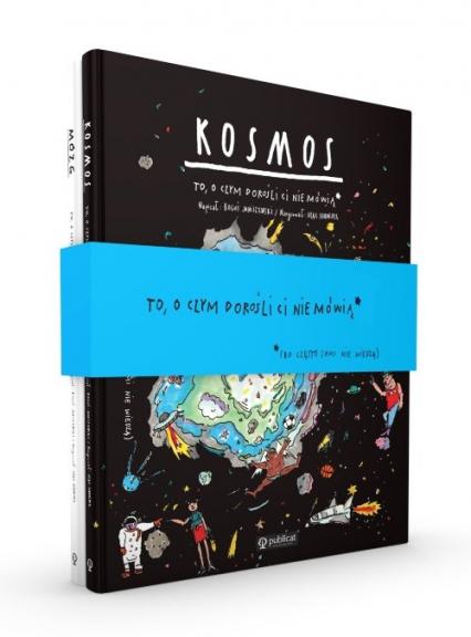 Kosmos / Mózg To o czym dorośli ci nie mówią Pakiet - Janiszewski Boguś, Skorwider Max | okładka