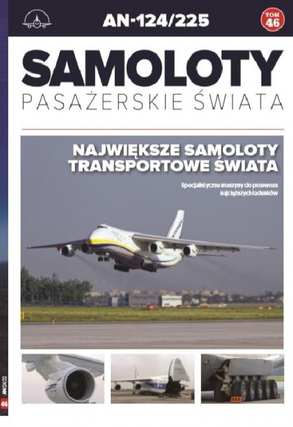 Samoloty pasażerskie świata Tom 46 - zbiorowe opracowanie   okładka