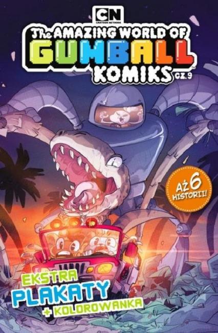 Gumball. Komiks. 9. Gumball Komiks nr 9 - zbiorowe opracowanie | okładka