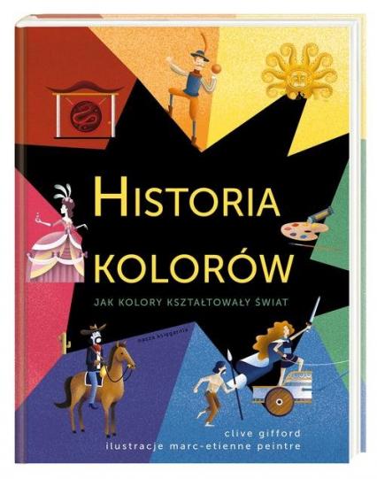 Historia kolorów - Clive Gifford | okładka