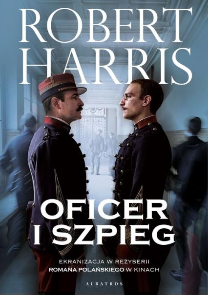 Oficer i szpieg - Robert Harris   okładka