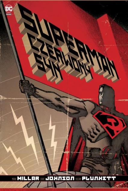 Superman Czerwony Syn -    okładka