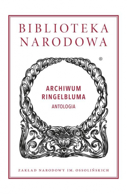 Archiwum Ringelbluma -    okładka
