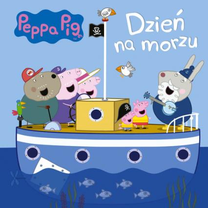 Peppa Pig nr 8 Dzień na morzu -    okładka