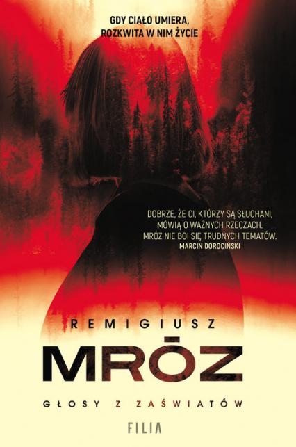 Głosy z zaświatów - Mróz Remigiusz | okładka