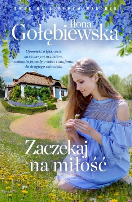 Zaczekaj na miłość - Ilona Gołębiewska | okładka