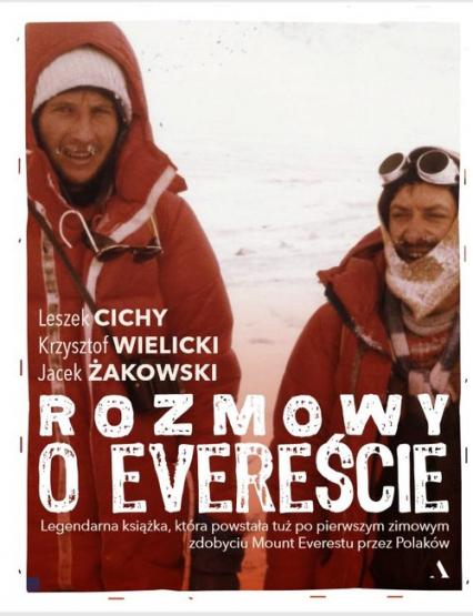 Rozmowy o Evereście - Żakowski Jacek,Cichy Leszek,Wielicki Krzysztof   okładka