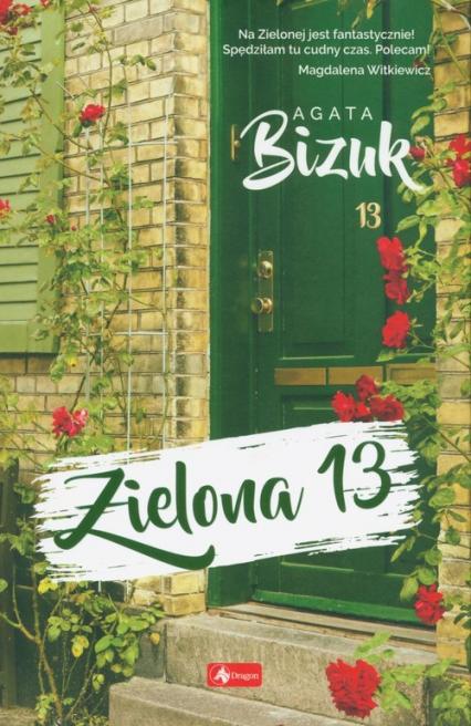 Zielona 13 - Agata Bizuk | okładka