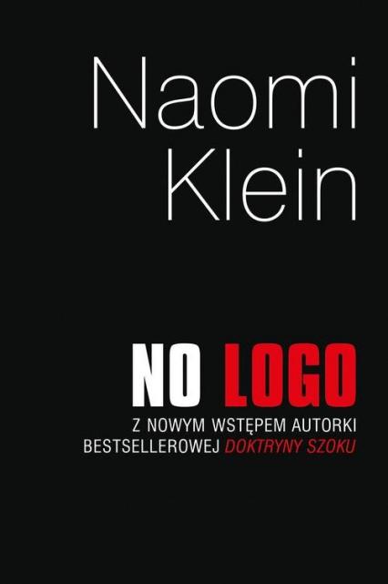 No Logo - Naomi Klein   okładka