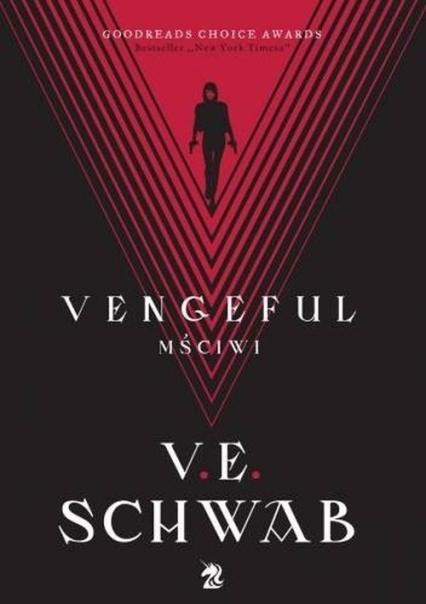 Vengeful Mściwi - V.E Schwab | okładka