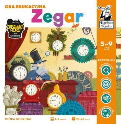 Kapitan Nauka Gra edukacyjna Zegar - zbiorowa praca | okładka