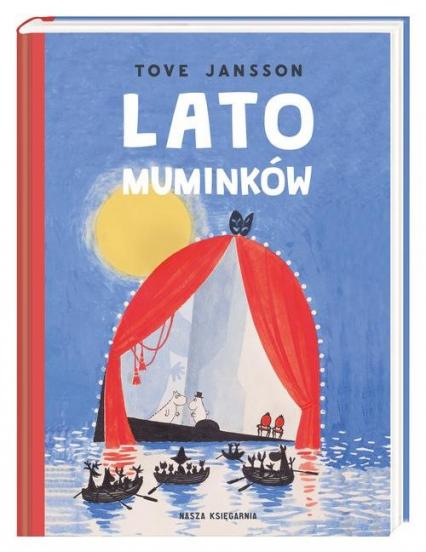 Lato Muminków - Tove Jansson   okładka