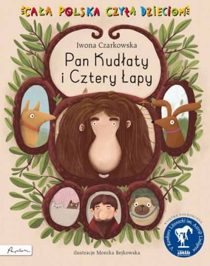 Pan Kudłaty i Cztery Łapy - Iwona Czarkowska | okładka