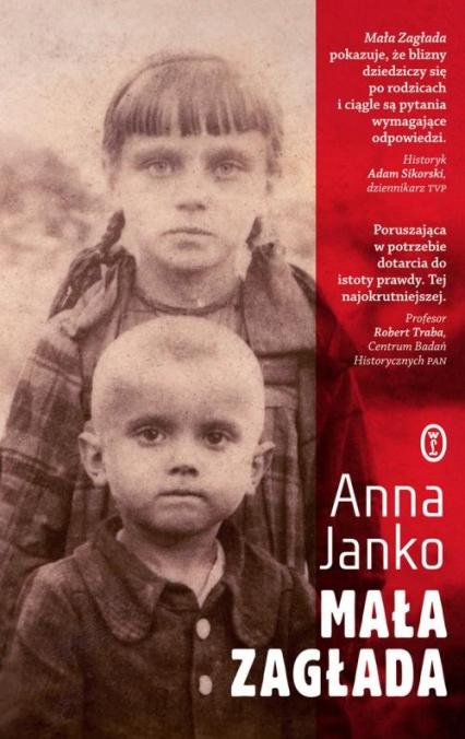 Mała Zagłada - Anna Janko | okładka