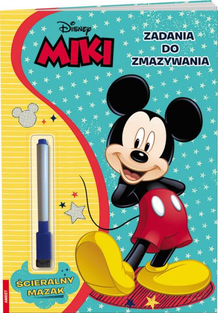Disney Miki Zadania do zmazywania PTC-9106 - zbiorowe Opracowanie   okładka